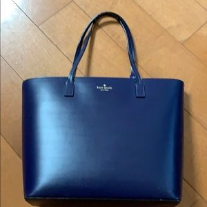 Kate Spade - Navy Blue Tote Style Bag